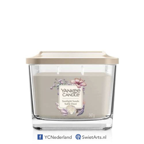 Yankee Candle Elevation Medium Jar Sunlight Sands