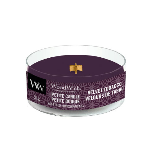 WoodWick Petite Candle Velvet Tobacco