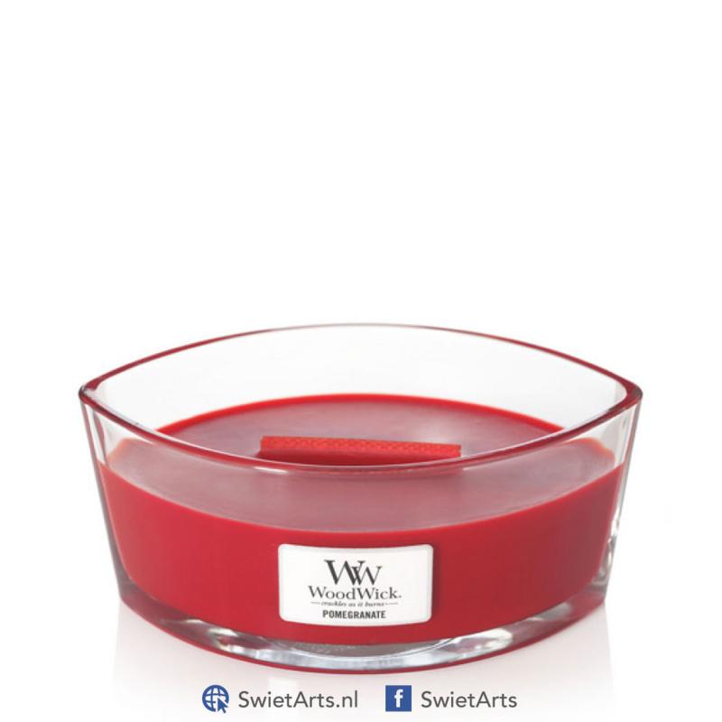 WoodWick Pomegranate Ellipse Candle