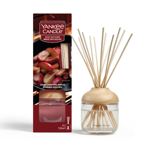 Yankee Candle Reed Diffuser 120ml Crisp Campfire Apples