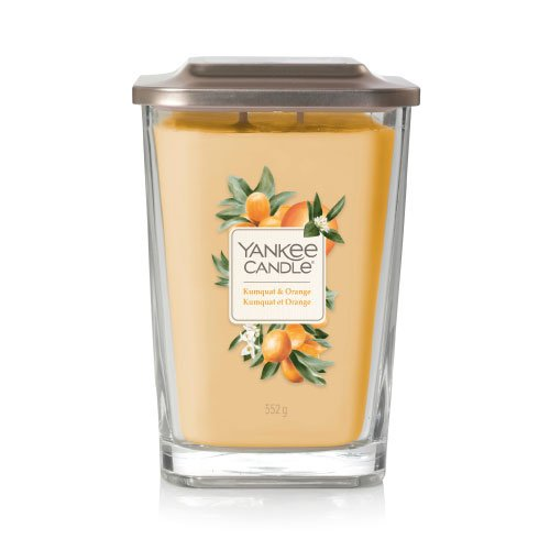 Yankee Candle Large 2-Wick Square Candle Kumquat & Orange
