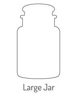 Hier vind je een overzicht van alle Yankee Candle Large Jar Geurkaarsen
