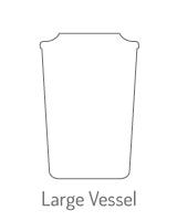 Hier vind je een overzicht van alle Yankee Candle Large Vessel Geurkaarsen