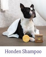 Met de Honden Shampoo Bars van Happy Soaps geef je jouw hond een heerlijke wasbeurt. Met de reiniging wordt zelfs de meest vieze vacht weer helemaal schoon! 100% plasticvrij, vol natuurlijke ingrediënten, pH-huidneutraal, palmolievrij, vegan en handgemaakt in Nederland met liefde. For a Happy Dog!