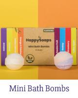 HappySoaps Bath Bombs zijn 100% (micro)plasticvrij, vegan en uitsluitend vervaardigd van natuurlijke producten en worden geproduceerd in Nederland. De Bath Bombs zijn goed voor het milieu, én je portemonnee. Net zo effectief als een traditionele Bath Bombs, maar dan plasticvrij.