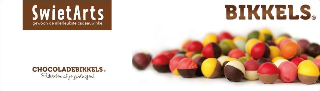 Chocoladebikkels. Prikkelen al je zintuigen!
