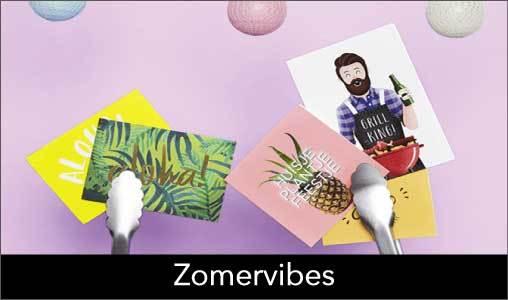 Deel jouw summervibes en verras iemand met een zonnig kaartje!