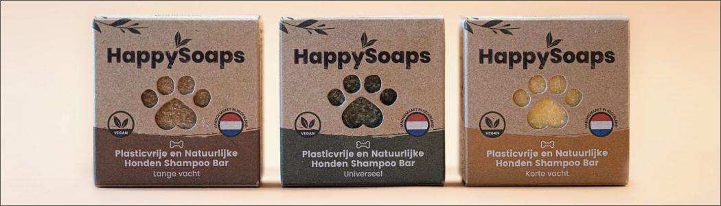 Happy Soaps Shampoo Bars voor honden