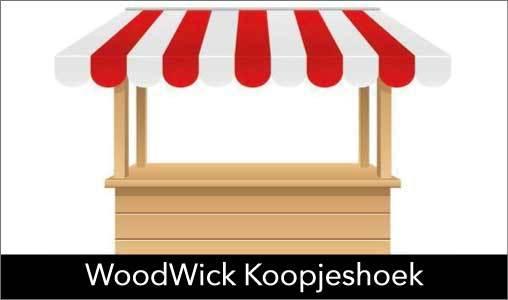 WoodWick met 25% korting kopen? Kijk snel in onze WoodWick Koopjeshoek. OP=OP!