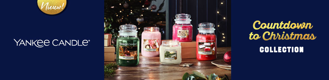 Ontdek de Yankee Candle Countdown to Christmas  Advent Kalenders 2021