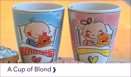 BLOND-AMSTERDAM A CUP OF BLOND COLLECTIE