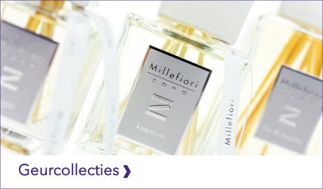 Welke Millefiori Milano collectie past het beste bij jou? Ontdek het overzicht van de Millefiori Milano geurcollecties.