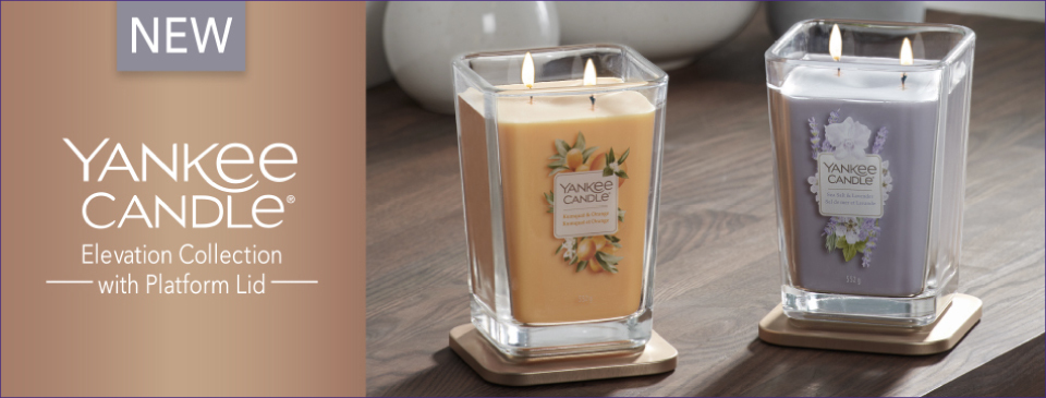 YANKEE CANDLE NEW ELEVATION COLLECTION SUMMER 2020
