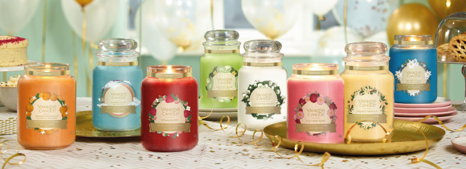 Yankee Candle 50th Anniversary Collection
