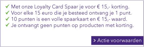SPAREN VOOR 15 EURO KORTING MET HET SWIETARTS LOYALTY SPAARPROGRAMMA
