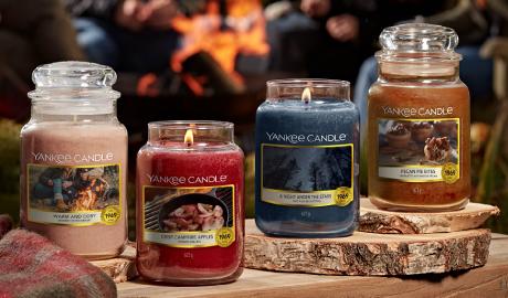Ontdek de nieuwste Yankee Candle Collectie Campfire Nights bij SwietArts!