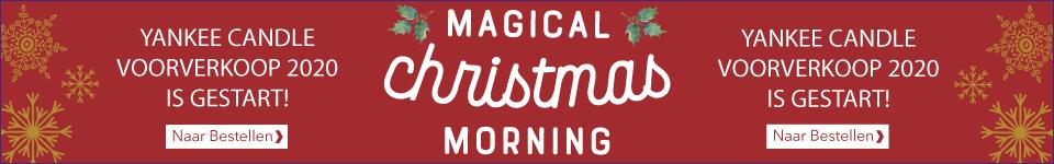 Yankee Candle Magical Christmas Morning is de kerstcollectie voor 2020