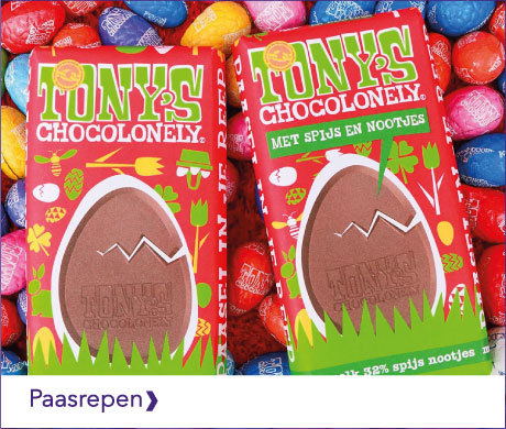 TONY'S CHOCOLONELY PAAS PRODUCTEN