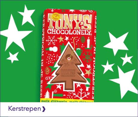 TONY'S CHOCOLONELY KERSTREPEN VOOR IN DE KERSTBOOM