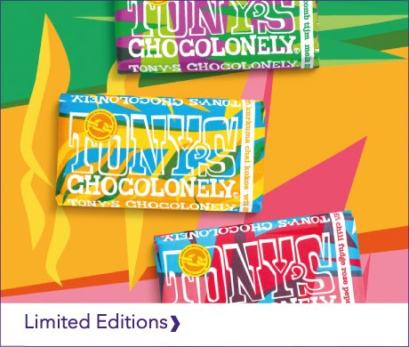 TONY'S CHOCOLONELY LIMITED EDITIONS 2019