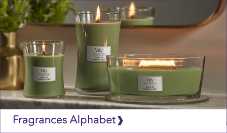 WOODWICK FRAGRANCE ALPHABET