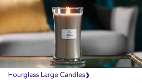 DISCOVER OUR WOODWICK HOURGLASS LARGE CANDLES
