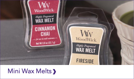DISCOVER OUR WOODWICK MINI WAX MELTS