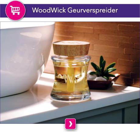 Een heerlijke geur verspreiden zonder te morsen doe je met deze WoodWick Spill-Proof Diffuser. Creeer in iedere ruimte een heerlijke WoodWick geur.