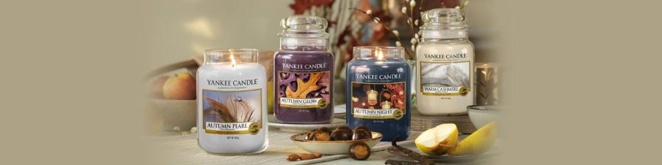 DISCOVER OUR YANKEE CANDLEM AUTUMN FRAGRANCES