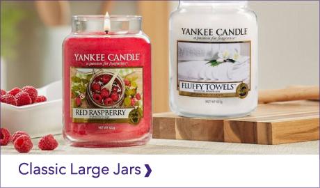 YANKEE CANDLE CLASSIC LARGE JARS