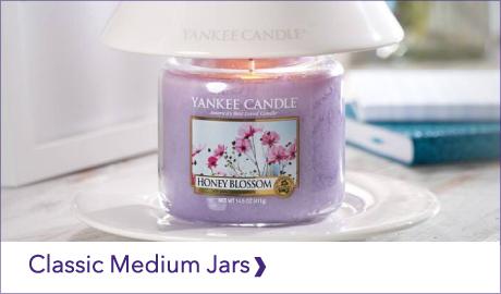 YANKEE CANDLE CLASSIC MEDIUM JARS