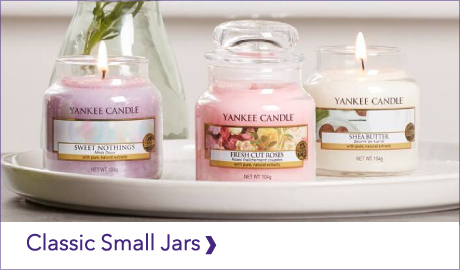 YANKEE CANDLE CLASSIC SMALL JARS