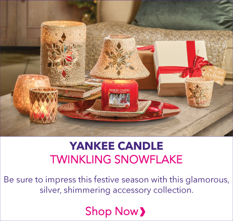 Yankee Candle Twinkling Snowflake Accessories Collection 2019