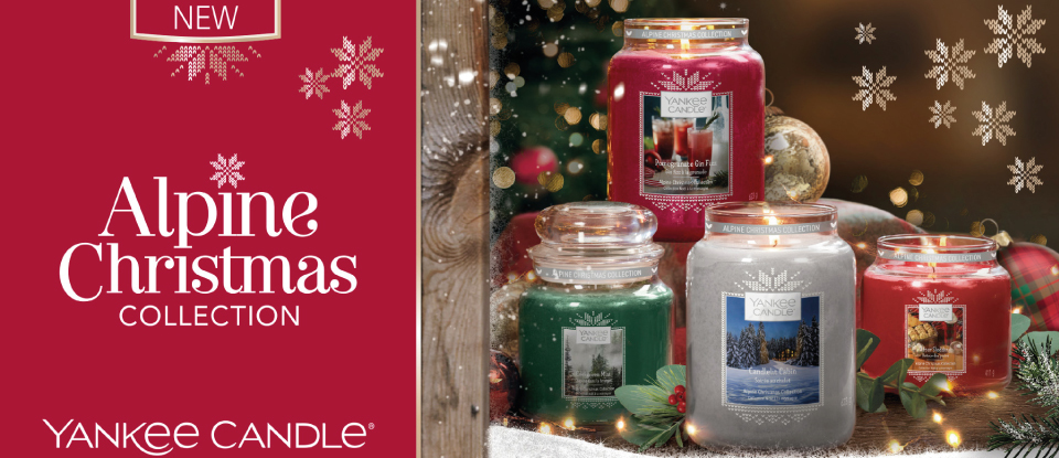 YANKEE CANDLE ALPINE CHRISTMAS COLLECTION 2019