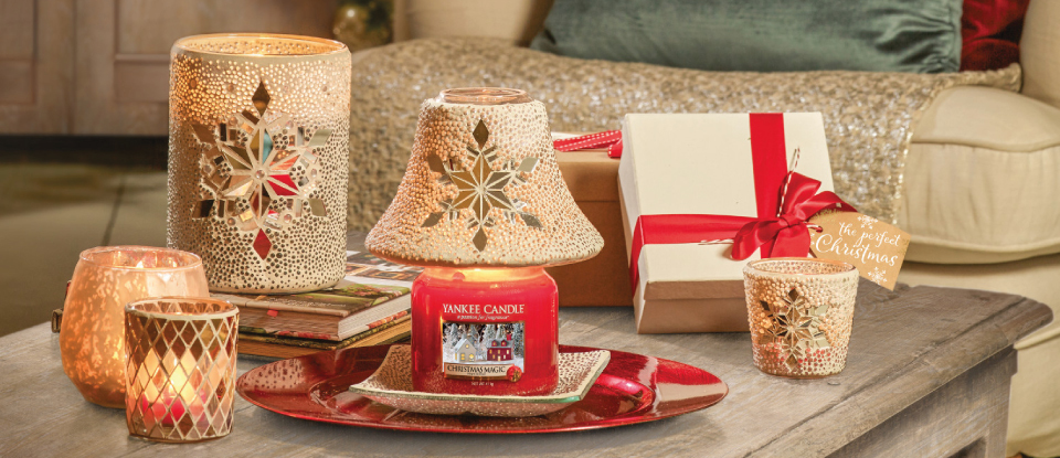 YANKEE CANDLE TWINKLING SNOWFLAKE | CHRISTMAS ACCESSORIES COLLECTION 2019