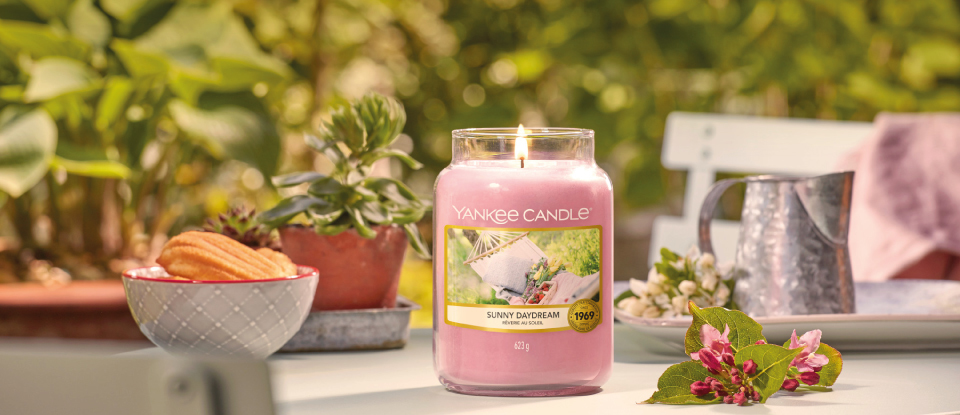 YANKEE CANDLE GARDEN HIDEWAY COLLECTION SPRING 2020