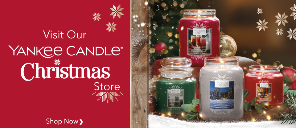 YANKEE CANDLE CHRISTMAS STORE 2019