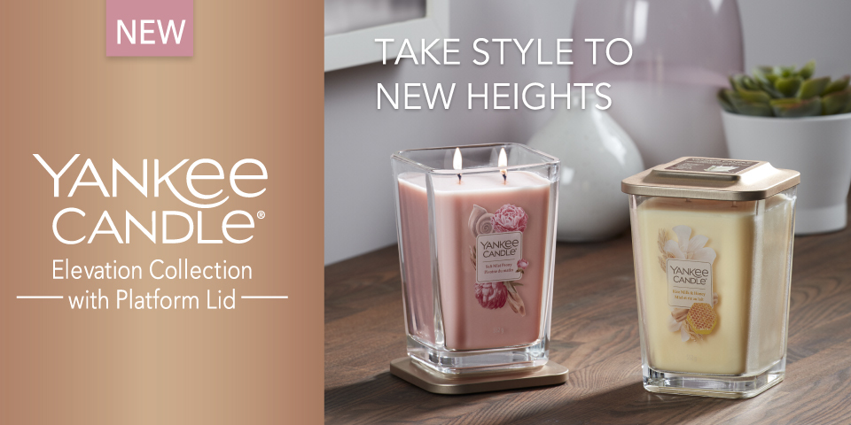 YANKEE CANDLE NEW ELEVATION COLLECTION 2020
