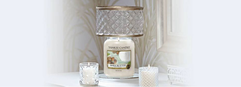 Yankee Candle Candle Shade & Trays