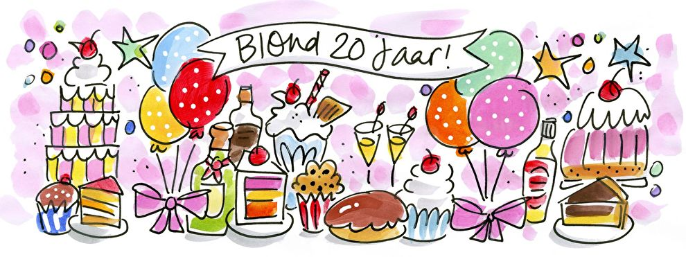 Blond Amsterdam 20 Jaar