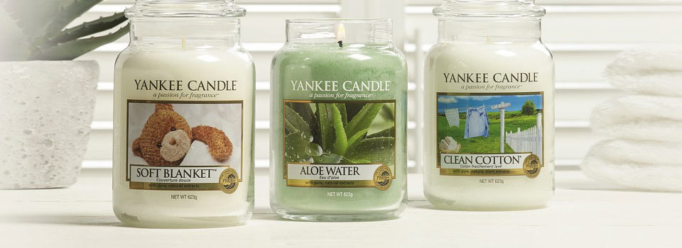 Yankee Candle Scented Candles Classic Styles
