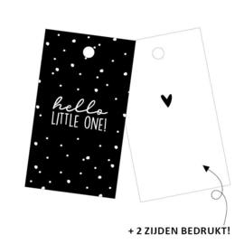 Cadeaukaartjes 'Hello little one' 2 stuks