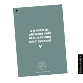 Babyshowerboek invulkaarten 25st. - groen