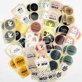Stickerset MEGAPACK - 100 stuks