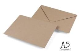 Enveloppen Kraft A5