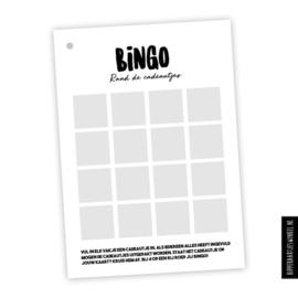 Babyshowerboek invulkaarten 10pers. - Oudroze