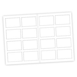 Afscheidszoenen kaart A5 Zwart/wit