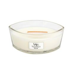 WW White Teak Ellipse Candle