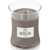 WoodWick Mini Candle Black Amber & Citrus