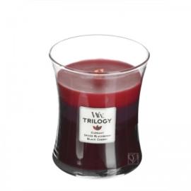 WoodWick Trilogy Medium Candle Sun Ripened Berries